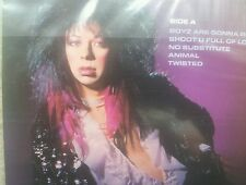 VINNIE VINCENT EX KISS INVASION FIRST EDITION 12 INCH LP ORIGINAL STICKER