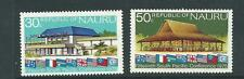 Nauru 1975 Sth Pacific Commission 2nd Conference set 2 Mint Hinged