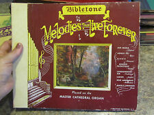 Bibletone Melodies that Live Forever 78 rpm record lot  Ave Maria Agens dei  BRK