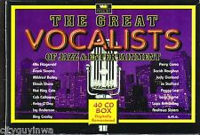 Great Vocalists Jazz Entertainment 40CD Classic 50s 60s DINAH SHORE JO STAFFORD