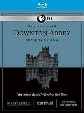 Masterpiece: Downton Abbey Seasons 1-4 Blu-ray Disc, 2014, 11-Disc Set New!