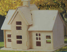 ONE 3D WOODEN KIT 'COUNTRY STATION' BUILDING 1:43 (O) Scale