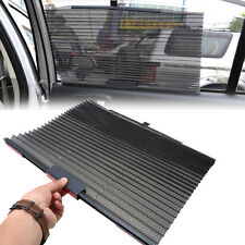 Black Auto Car Folding Foldable Side Window Windshield Sun Shade Visor Valance