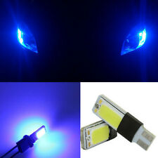2p BLUE T10 LED 194 COB Interior Bulb Light Parking Fog Brake Wild Lamp HC-HF