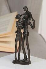 74570 Sculpture Parents Fer brunis Hauteur 19cm Largeur 8cm Profondeur 5cm