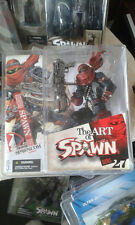 THE ART OF SPAWN SERIES 27 ISSUE 131 COVER ART ACTION FIGURE McFARLANE TOYS