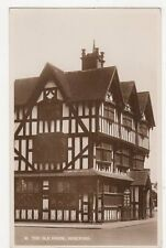 The Old House Hereford Vintage RP Postcard  162a