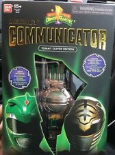 Mighty Morphin Power Rangers Legacy Communicator Tommy Oliver Green/white Editio