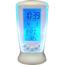 Square Clock 510 Digital Alarm Temperature Calender Table Clock