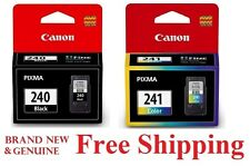 *GENUINE* Canon PG Black 240 CL 241 Color Ink Cartridges MG3520 3220 MX459