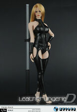 "Zy Toys ZY16-15 Sexy Female 1/6 Scale Leather Corset Set For 12"" Phicen Body"