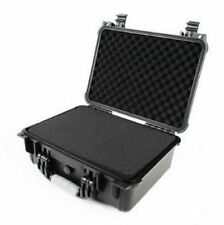 "16"" Hard Shell Weatherproof Case For Guns DSLR HD Camera Lense Pull & Pluck Foam"