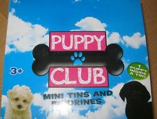 PUPPY CLUB MINI FIGURE IN A TIN - BLIND BAGS - 8 TO COLLECT