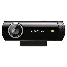 Creative Live! Cam Chat HD 5.7MP Webcam (Black)