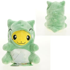 1PC Cute Pokemon Substitute Green Pikachu Plush Doll Stuffed Toy Gift 7in