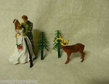 Wedding Reception Party ~Camo Rifle Gun Deer Hunter  Hunting Cake Topper Redneck