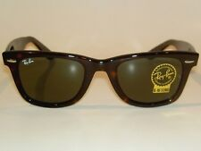 New RAY BAN Original WAYFARER Sunglasses RB 2140 902 Tortoise Frame 47mm Small