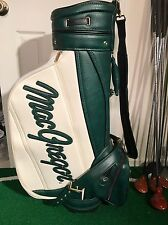 Classic MacGregor Tourney 1897 Deluxe Golf Staff Bag - White / Green
