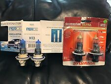 Sylvania Silverstar ULTRA H13 & PERDE H13 Xenon/Krypton Bundle 2 Pair 9008 Bulbs