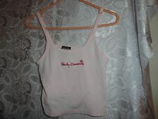 WOMEN'S PINK HARLEY DAVIDSON TANK TOP-SIZE SMALL