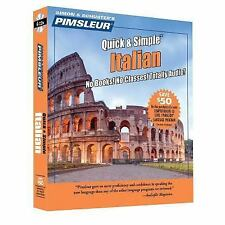 NEW! Pimsleur Italian Quick & Simple Course - Level 1 Lessons 1-8 [Audiobook]