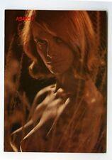 """Alte ORIG. FOTO AK ca. 60er J. JUNGE FRAU NUDE NACKT EROTIK MODEL """"NADIA"""""""