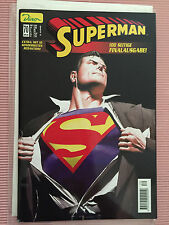 9.0 VF/NM SUPERMAN FOREVER GERMAN EURO ALEX ROSS FOIL VARIANT WP YOP 2000