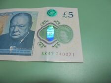 NEW 5 POUND NOTE AK47 74 007 1