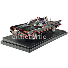 Hot Wheels TV Series Classic 1966 Batmobile w Batman & Robin Figures 1:18 DJJ39