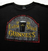 GUINNESS extra stout XL T-SHIRT beer