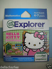 LEAP FROG EXPLORER HELLO KITTY GAME SWEET LITTLE SHOPS LEAP PAD LEAPSTER GS NEW