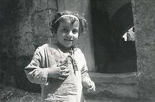 ÎLE DE RHODES c. 1939 - Enfant  Petite Fille de Rhodes Grèce - DIV 9307