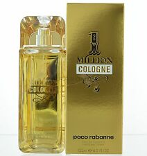 1 Million COLONGE by Paco Rabanne for Men Eau De Toilette 4.2 OZ 125 ML Spray