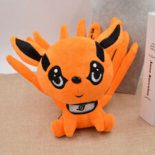 Cartoon Na ruto Süß Cosplay Naruto Kyuubi Kitsune Anime Nine Tails Fox Puppe