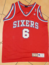 Philadelphia 76ers Julius Erving NBA Basketball Trikot L Champion Jersey Dr. J