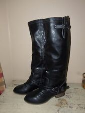 Breckelle's Black Outlaw-91 Boots Size 6 1/2 New No Box