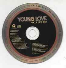 Young Love Find A New Way Limited Edition 2009 Promo Remixes CD