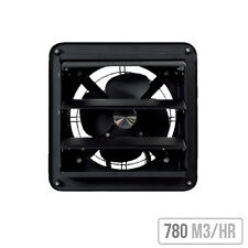 Commercial Wall Fan 200 with Gravity Shutters | High Quality Commercial Fan