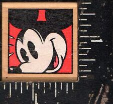 Rubber Stampede Wood Mounted Rubber Stamp Disney Mickey Mouse
