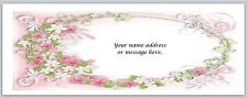 30 Personalized Return Address Labels Flowers Buy 3 get 1 free (bo 633)