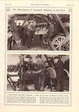 1917 Motor Vehicle Repair Shop Macedonian Front Venizelist Soldiers Road-making