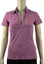 MEXX Polo Shirt kurzarm Damen Stretch Poloshirt lila XL eher M guter Zustand
