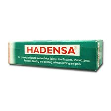 6X Doller Company Hadensa Ointment for Piles Anal Eczema itching 40 gm