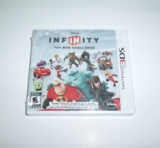 DISNEY INFINITY 1.0 Game Only Brand New Sealed Nintendo 3DS Toy Box Challenge