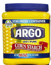 Argo 100% Pure Corn Starch ~ 16 oz.