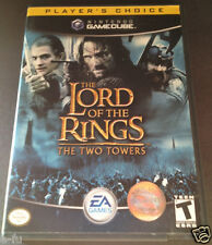 THE LORD OF THE RINGS THE TWO TOWERS Gamecube Video Game In Slightly Used Shape
