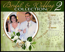 W2 Wedding Bridal Digital Backdrops Backgrounds Templates Magazine Covers Props