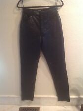 New - Wilsons Black Leather Pants Very Soft ! Sz. 8 No Tags