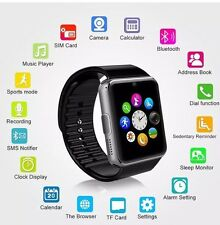 BNIB SILVER SMART FITNESS WATCH BLUETOOTH FOR IPHONE ANDROID GIFT