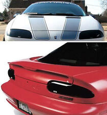 93-97 Chevrolet Camaro RS Z28 GTS Smoke Acrylic Headlight Taillight Covers 4pc